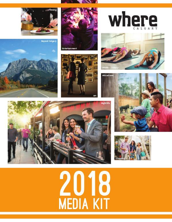 Where Canada Media Kits WHERE Calgary Media Kit 2018