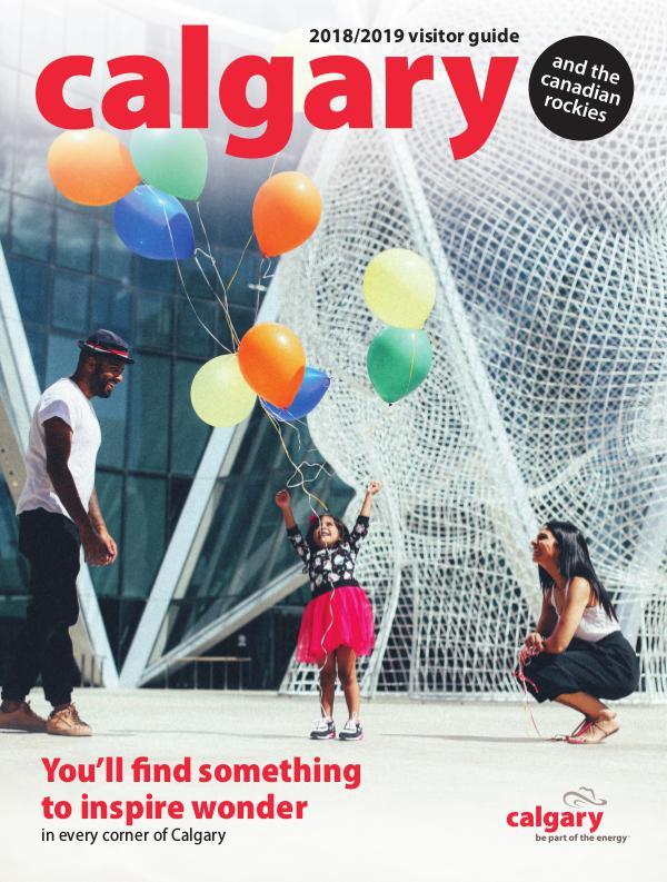 Tourism Calgary Visitor Guide 2018