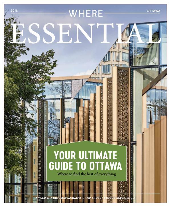 Essential Ottawa Magazine Where Ottawa Essential 2018