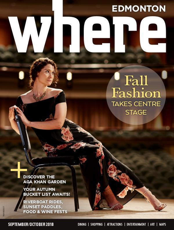 Where Edmonton Magazine September/October 2018