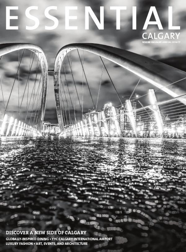 Essential Calgary Magazine Essential Calgary 2017