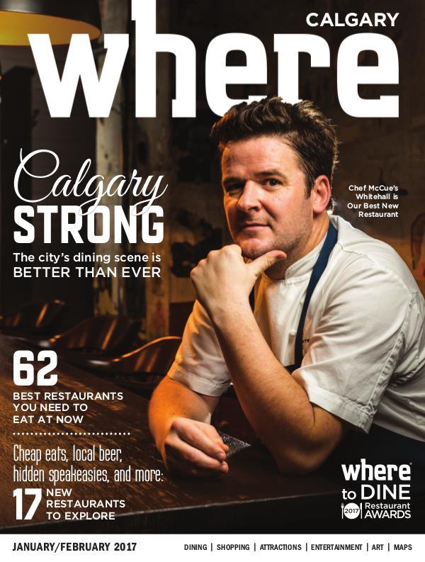 Where Calgary Magazine January/February 2017