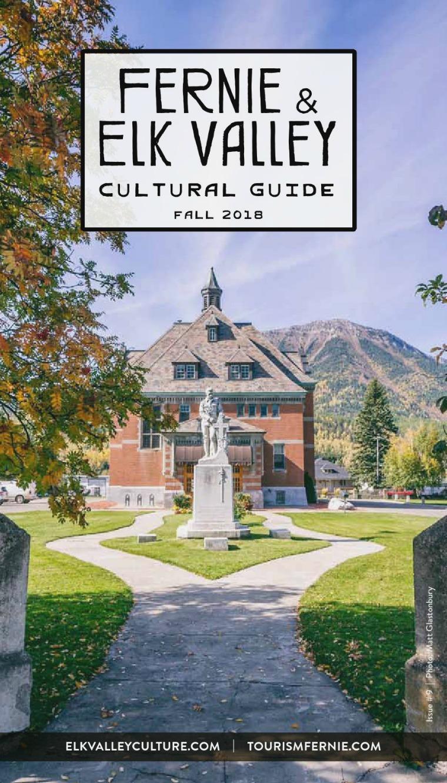 Fernie Cultural Guide FALL 2018