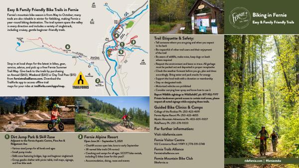 Biking in Fernie Easy & Family Friendly Trails