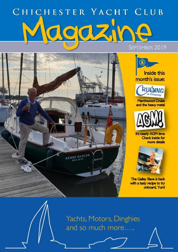 Chichester Yacht Club Magazine September 2019