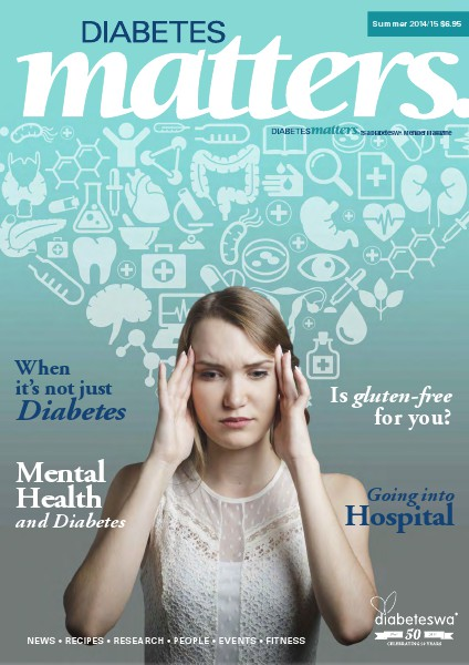 Diabetes Matters - online subscriptions are no longer available Summer 2014