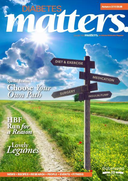 Diabetes Matters - online subscriptions are no longer available Autumn 2016