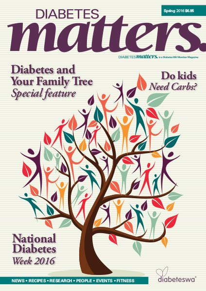 Diabetes Matters - online subscriptions are no longer available Spring 2016