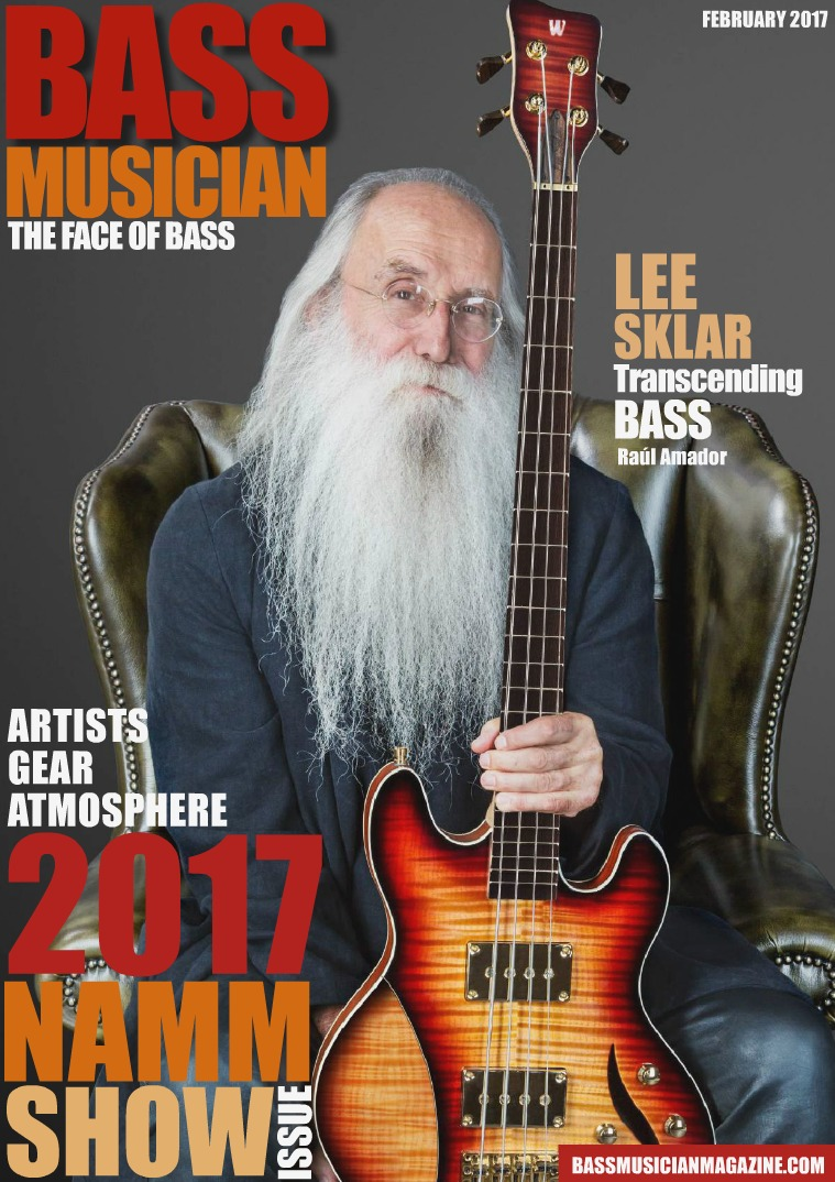 Bass Musician Magazine February 2017 NAMM Issue