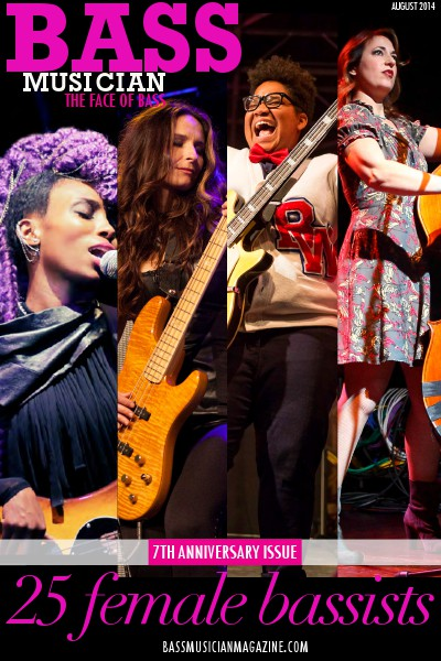 Bass Musician Magazine - SPECIAL August 2014 Female Bassist Issue