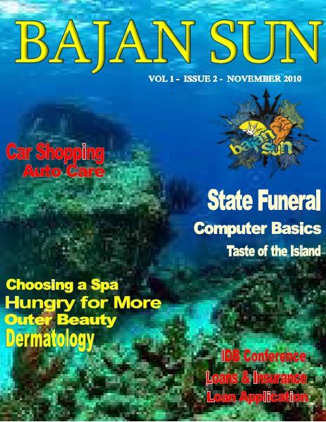Bajan Sun Magazine - Caribbean Entrepreneurs Vol 1 Issue 2