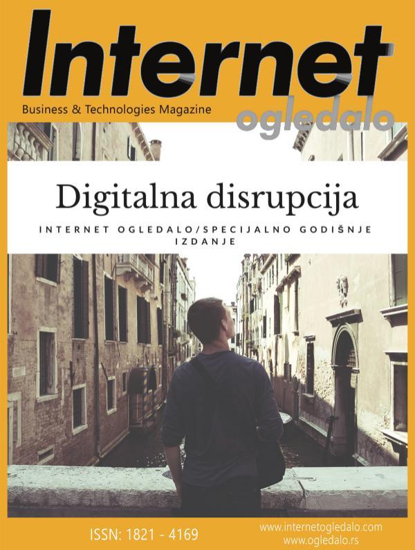 Digitalna disrupcija - specijalno izdanje Internet ogledala DIGITALNA DISRUPCIJA PDF