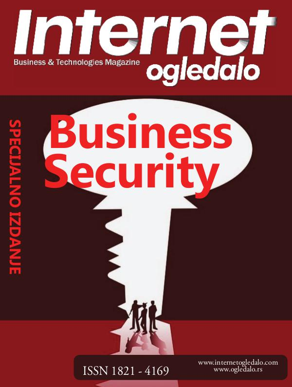 Internet ogledalo-Specijalno izdanje: Business Security IO 189 BUSINESS SECURITY
