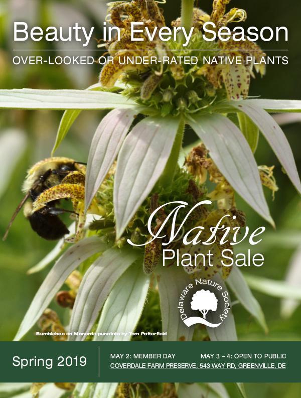 Native Plant Sale Catalogue - Delaware Nature Society Native Plant Sale Catalogue 2019
