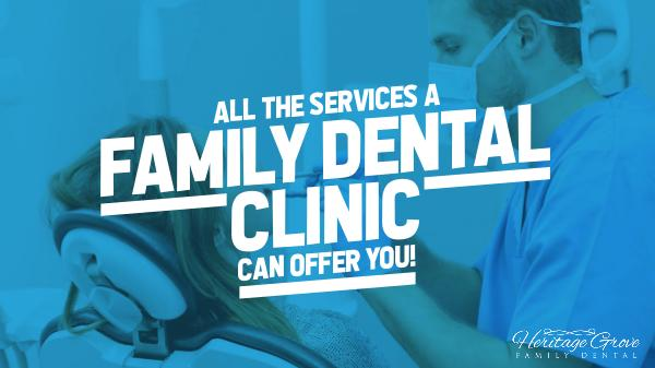 Plainfield Family Dental The Services A Family Dental Clinic Can Offer