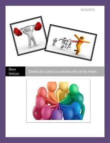 Diario curso colaboración entre pares