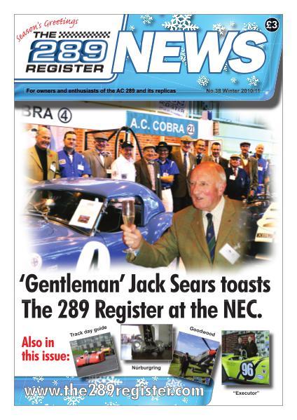 The 289 Register News No 38 Winter 2010