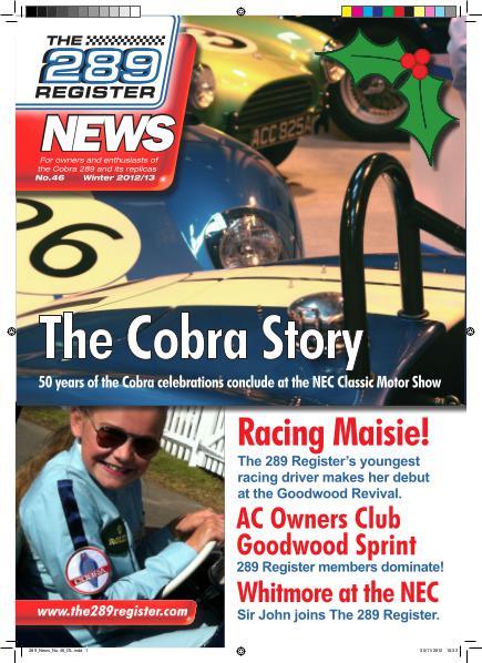 The 289 Register News No 46 Winter 2012
