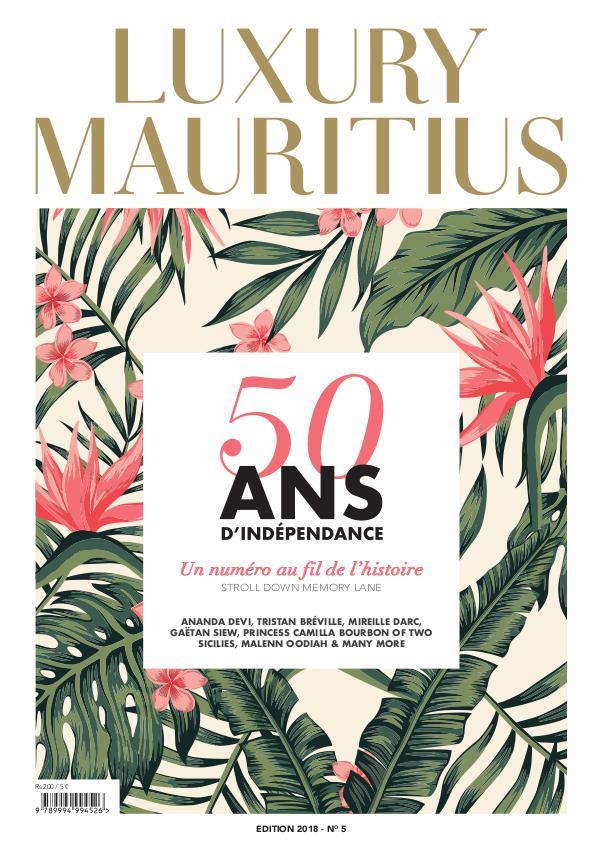 LUXURY MAURITIUS No 5 EDITION 2018