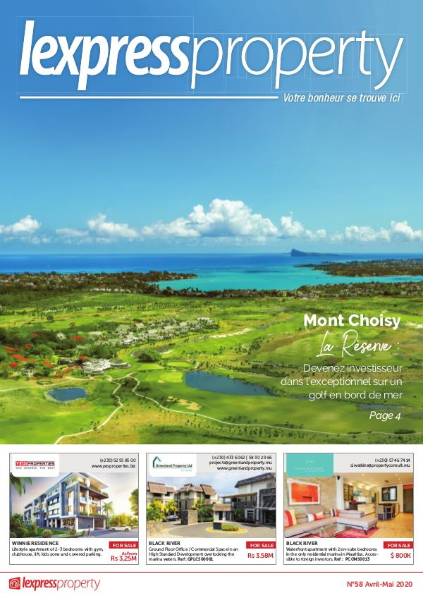 Lexpress Property Magazine N°58 Avril-Mai 2020