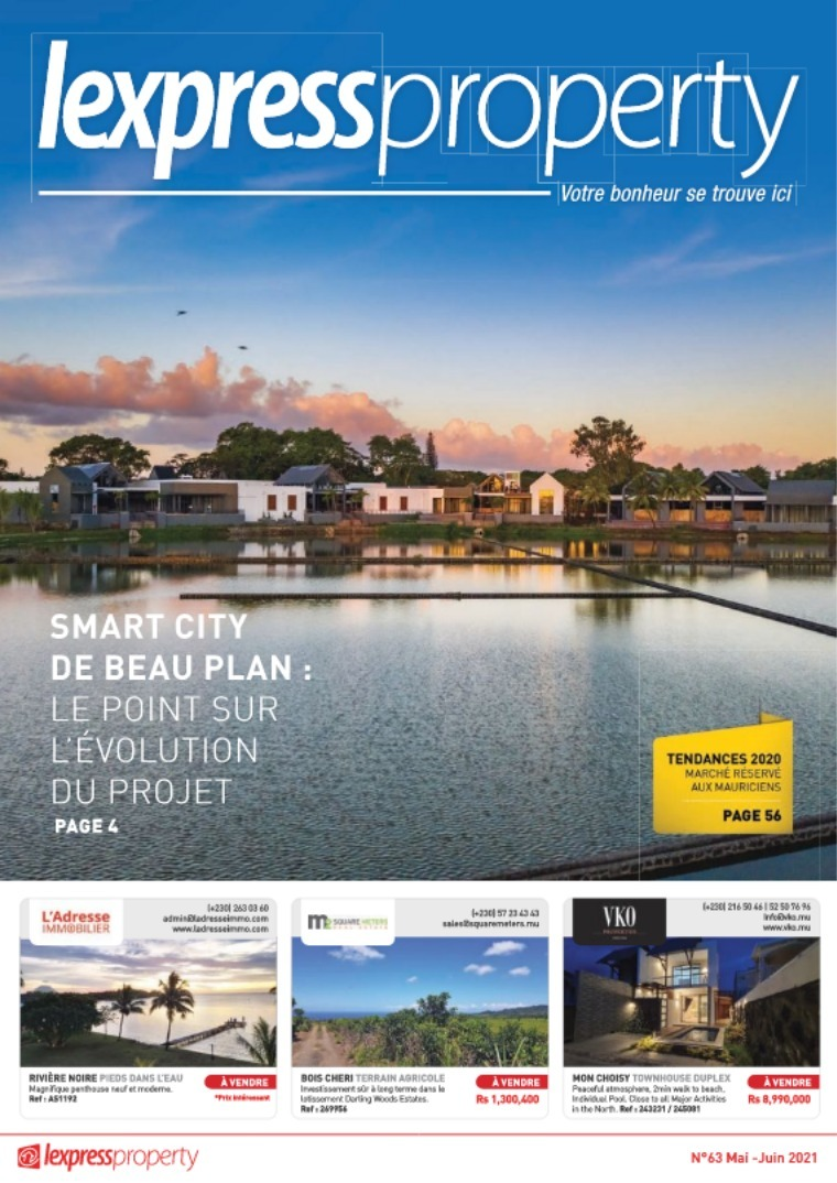 Lexpress Property Magazine N°63 Mai - Juin 2021