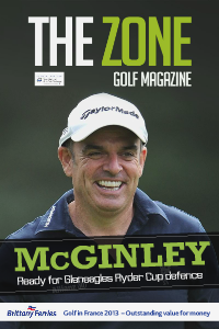 The Zone Interactive Golf Magazine (UK) The Zone Issue 18