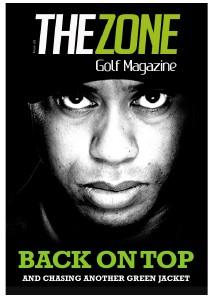 The Zone Interactive Golf Magazine (UK) The Zone Issue 20