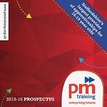 PM Training Prospectus 2015-16