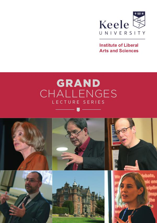 Grand Challenges lecture series ILAS 2016-2017