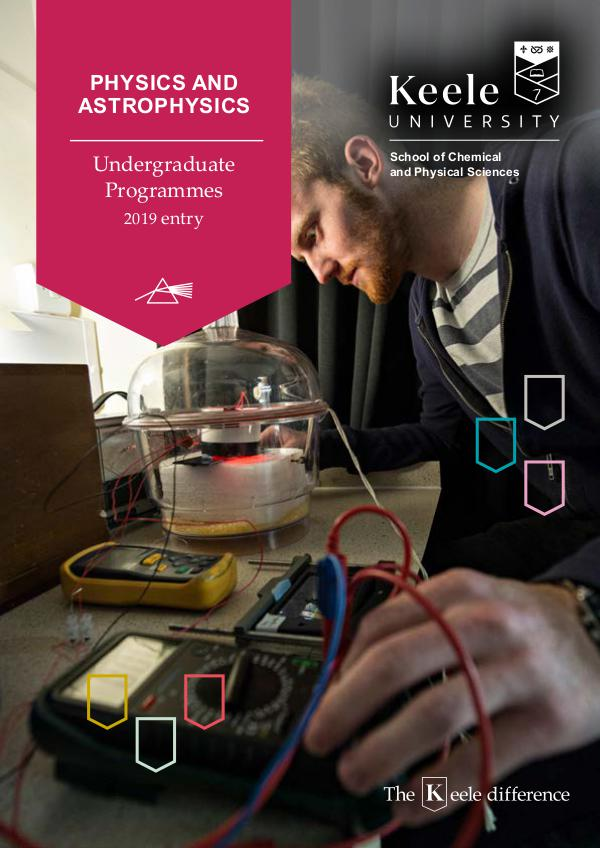 School of Chemical and Physical Sciences brochures Physics Astrophysics brochure 2019