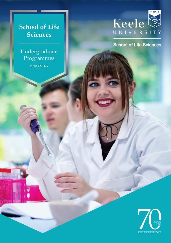 School of Life Sciences Undergraduate & Postgraduate Courses 2020 2020 Entry