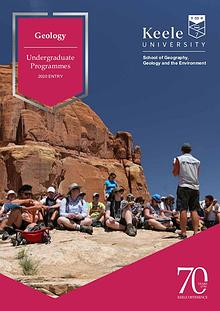 Geology Undergraduate Programmes for 2020 Entry