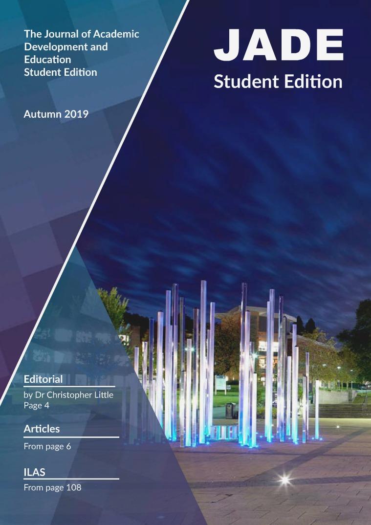 JADE Student Edition 2019 JADE JSLUG 2019