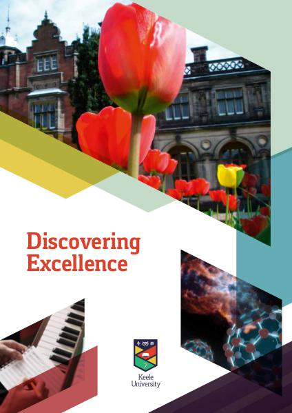 Discovering Excellence: Research at Keele