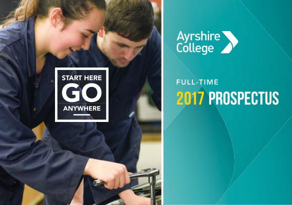 Ayrshire College Prospectus