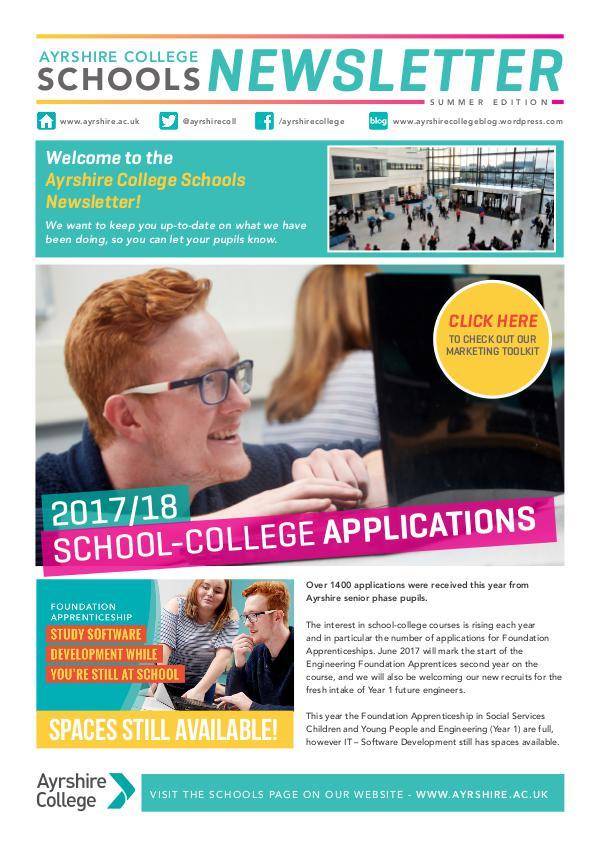 Schools Newsletter June 2017