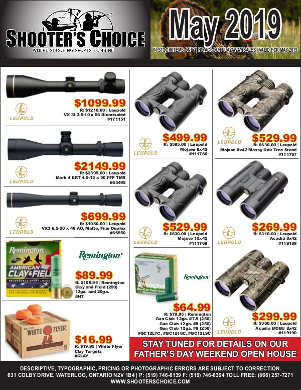 Monthly Sales Flyer May 2019