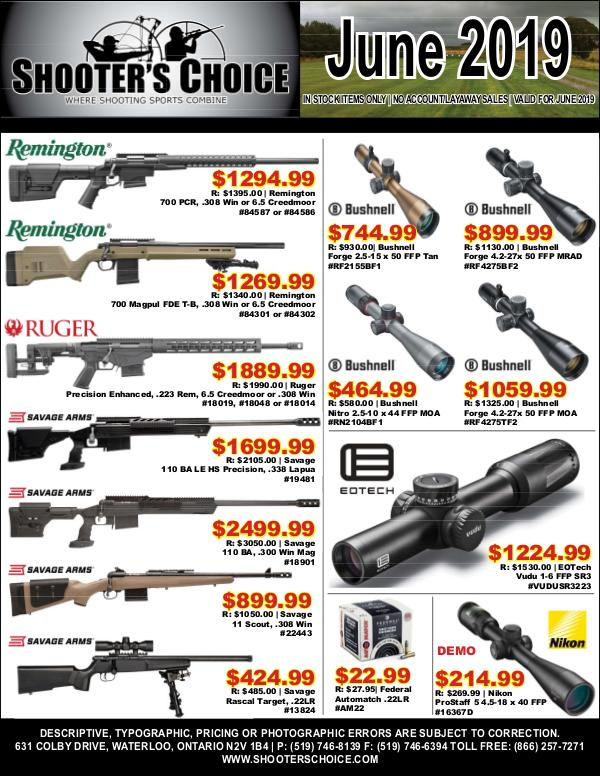 Monthly Sales Flyer June 2019
