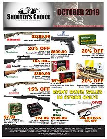 Monthly Sales Flyer