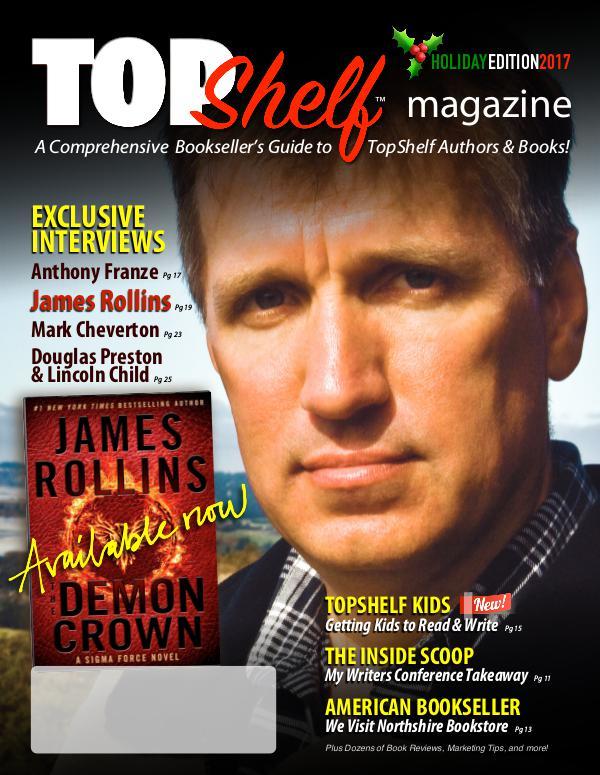 TopShelf Magazine Holiday Edition, 2017