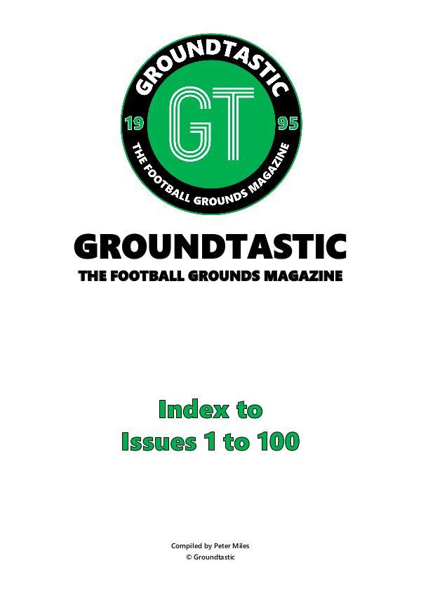 GT Index - 1 to 100