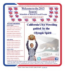2015 California USA Wrestling Newsletter