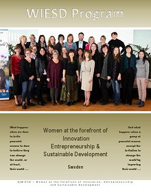 WIESD - Women at the Forefront of Innovation, Entrepreneurship & SD