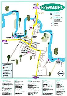 Brewarrina Town Map