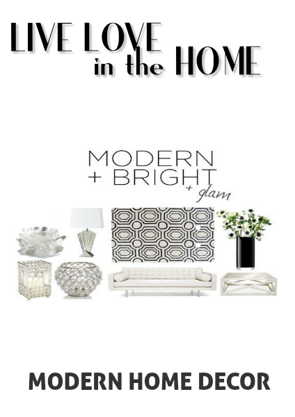 Live Love in the Home Modern Home Decor