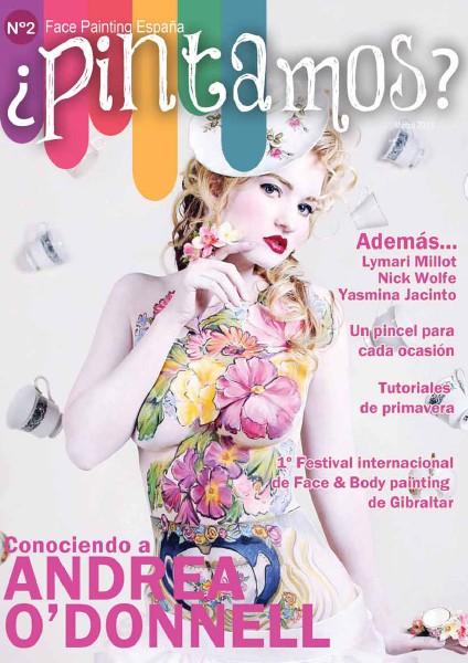 ¿PINTAMOS? Face & Body Painting España nª2 Marzo 2013