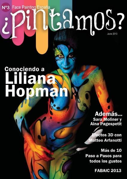 ¿PINTAMOS? Face & Body Painting España Nº 3 Junio 2013