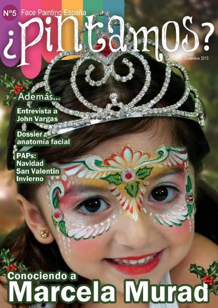 ¿PINTAMOS? Face & Body Painting España Nº5 diciembre 2013