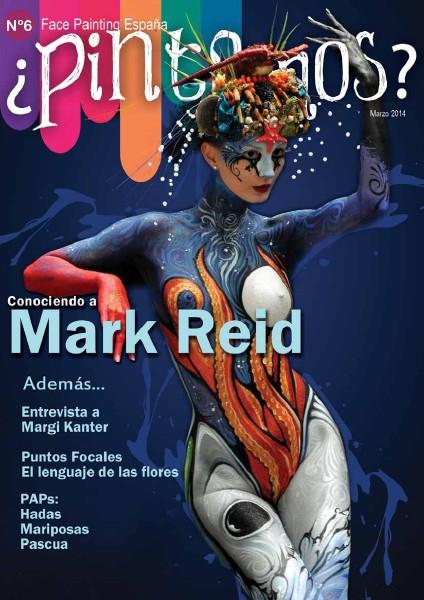 ¿PINTAMOS? Face & Body Painting España Nº6 Marzo 2014