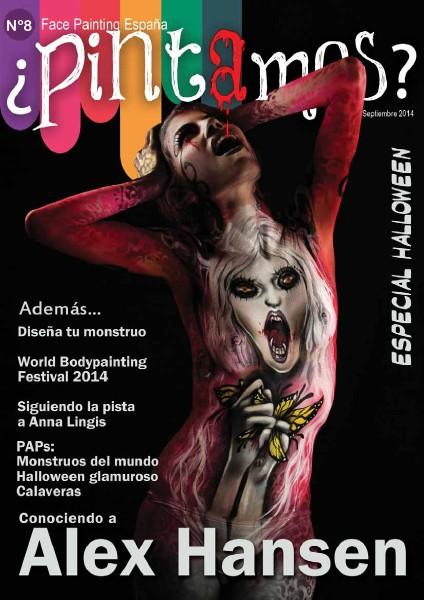 ¿PINTAMOS? Face & Body Painting España Nº8 Septiembre 2014